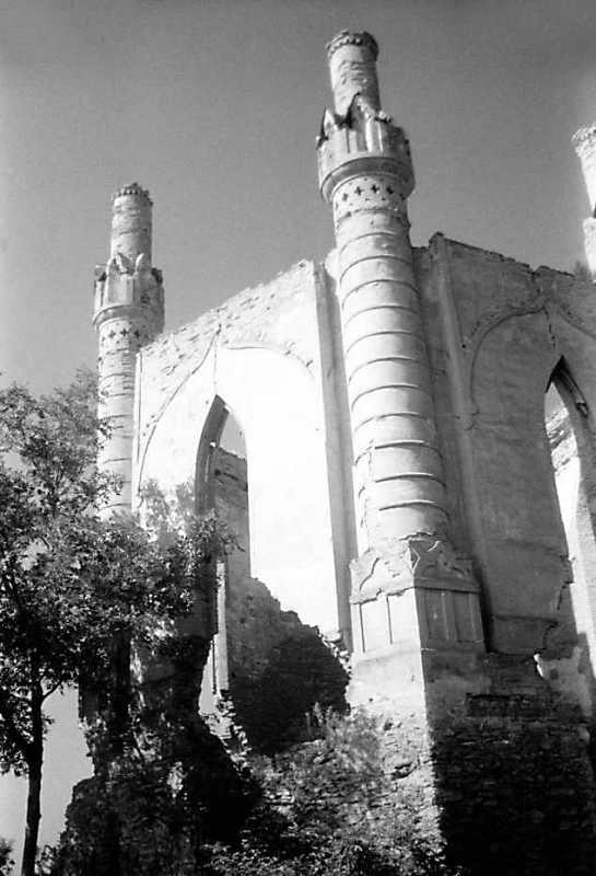1991 р. Верхній ярус північної башти. Вигляд з північного сходу