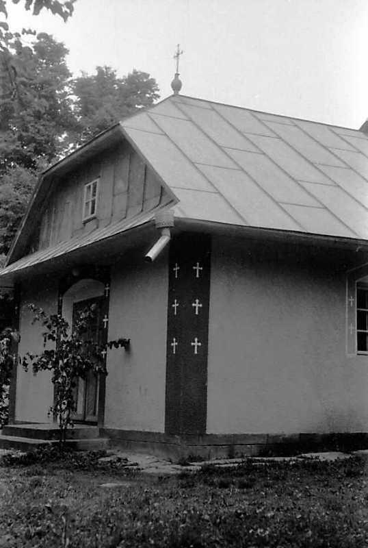 1992 р. Західний фасад. Вигляд з південного заходу