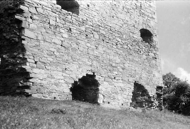 1992 р. Нижня частина куртини 8. Вигляд із заходу