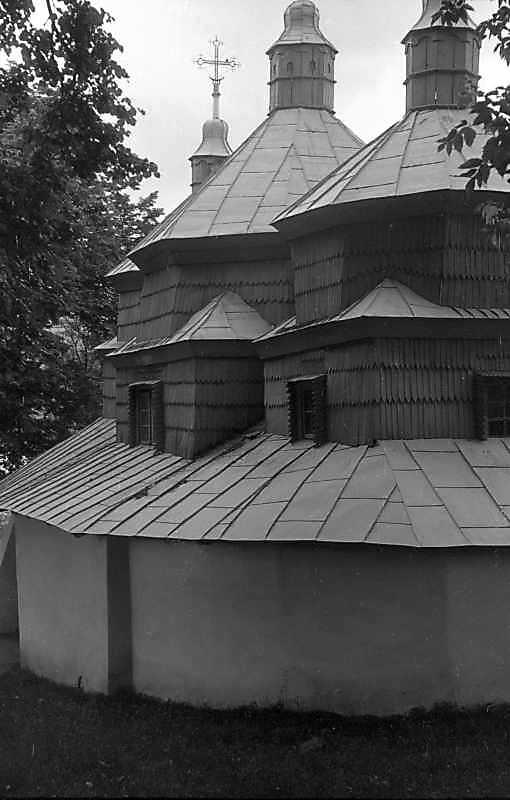 1992 р. Бічний фасад. Вигляд з позиції А2