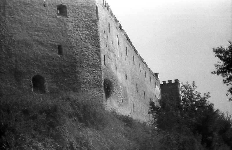 1992 р. Фрагмент південного муру. Вигляд із заходу