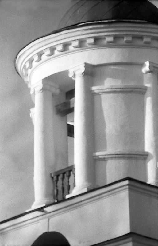 1993 р. Верхній ярус дзвіниці. Вигляд з південного заходу