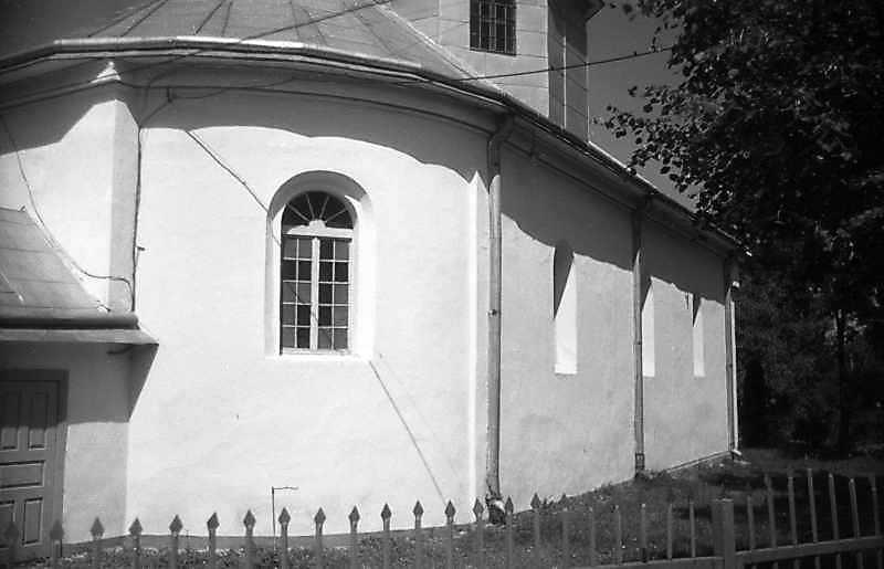 1993 р. Бічний фасад. Вигляд з позиції А1