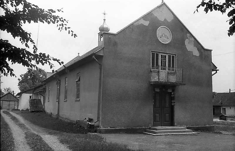 1993 р. Стара церква. Вигляд з північного заходу