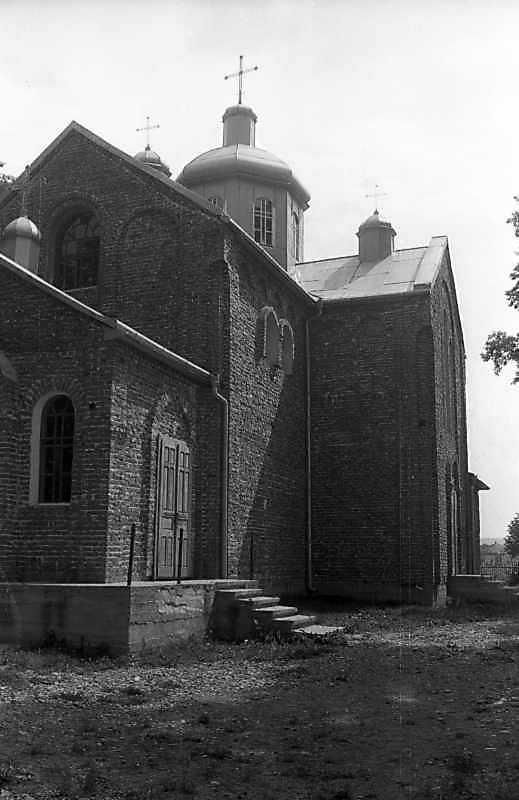 1993 р. Південний фасад. Вигляд із заходу