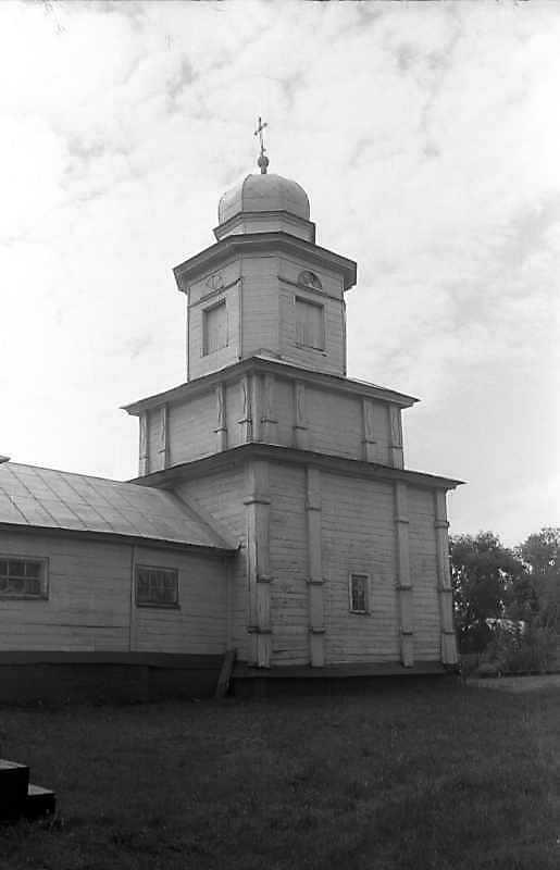 1993 р. Дзвіниця. Вигляд з північного сходу