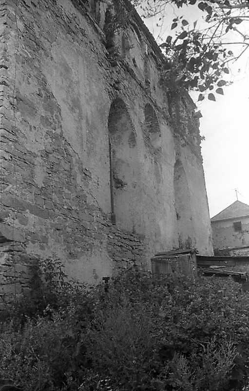 1995 р. Тиловий фасад в ракурсі