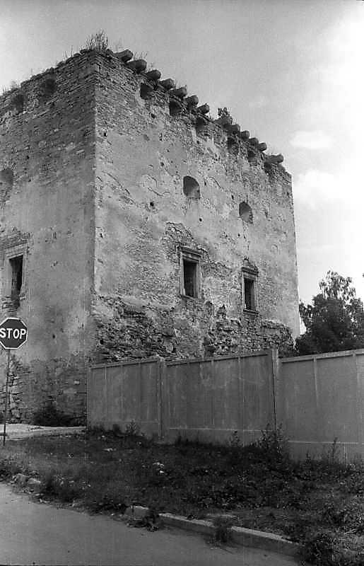 1995 р. Чільний фасад (з боку Збруча)