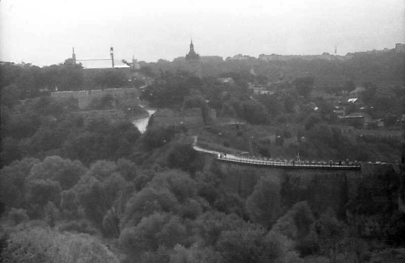 1995 р. Південна частина Старого міста і Турецький міст. Вигляд з північного заходу