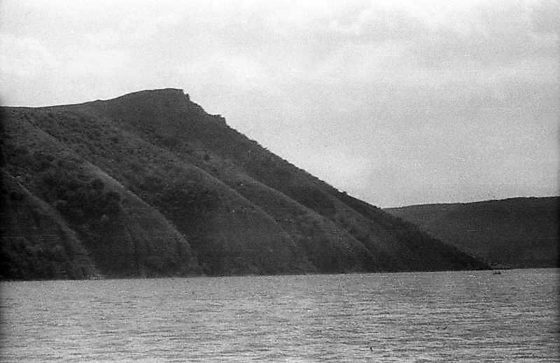 1995 р. Гора на лівому березі Дністра над гирлом р.Студениця. Вигляд з південного заходу