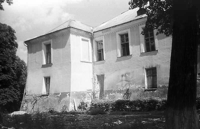 1996 р. Північна частина головного фасаду. Вигляд з південного заходу