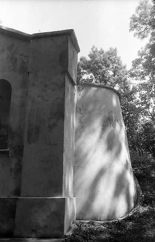 1996 р. Фрагмент склепу. Вигляд із заходу