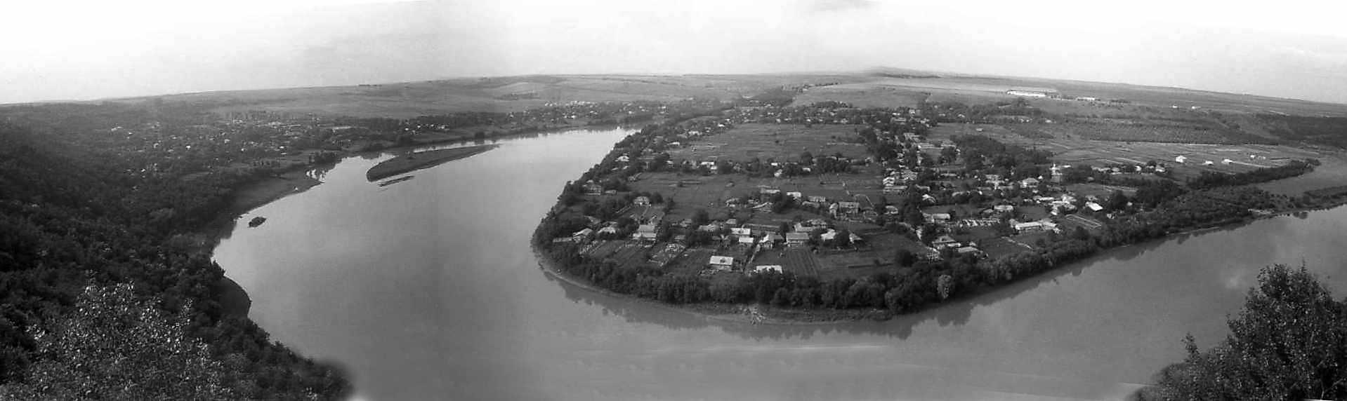 1996 р. Панорама луки Дністра
