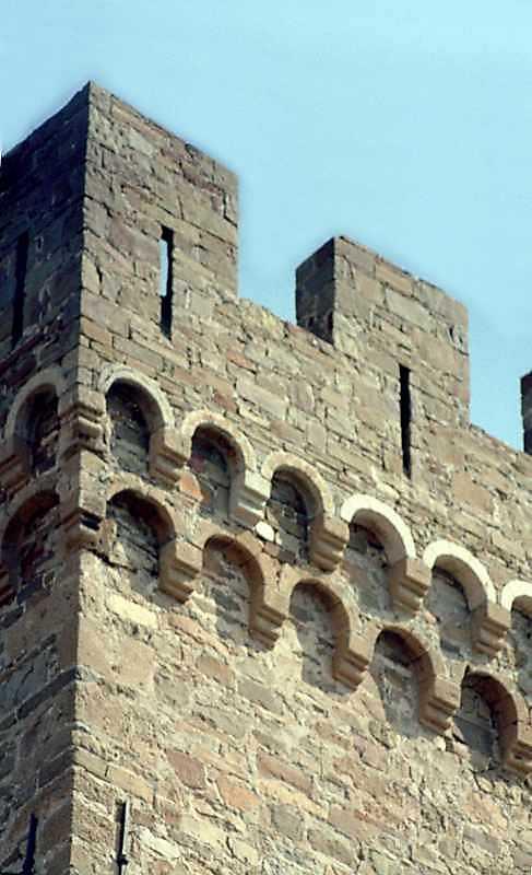 2001 р. Фрагмент верхнього ярусу. Вигляд з північного заходу
