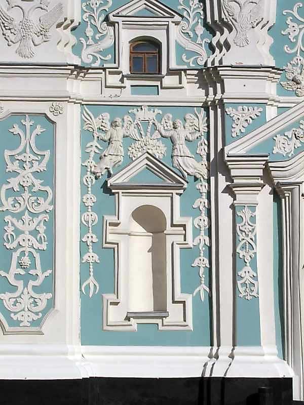 2004 р. Ніша у лівому пряслі 1-го ярусу південно-західного фасаду