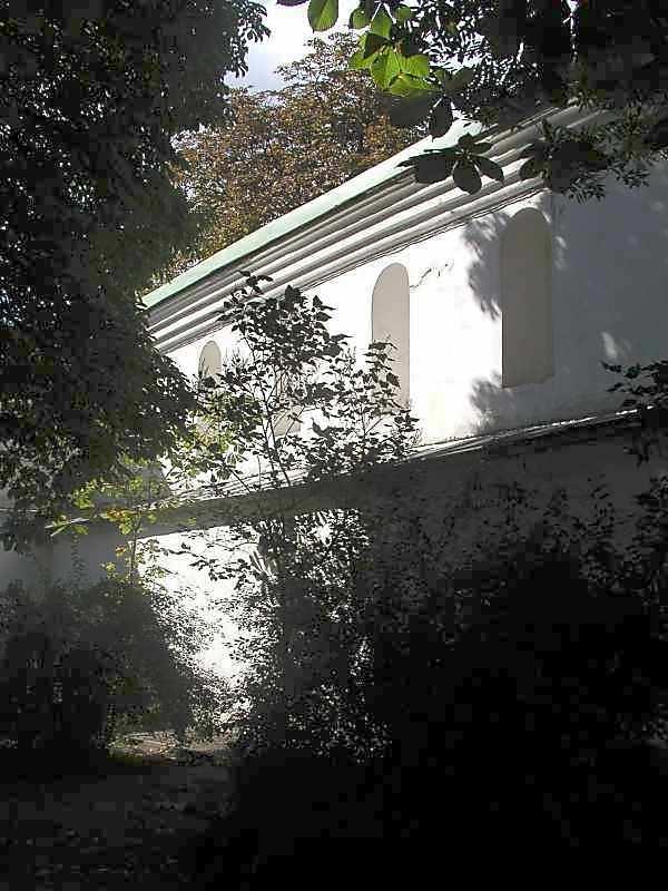 2005 р. Західний мур. Фрагмент на північ від Троїцької церкви. Вигляд з північного сходу