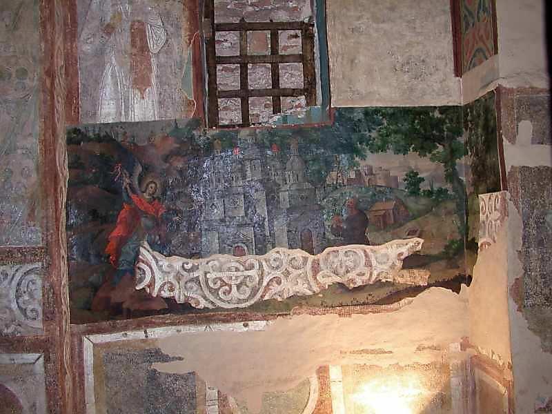 Чудо в Хонах (на південно-східній стіні)