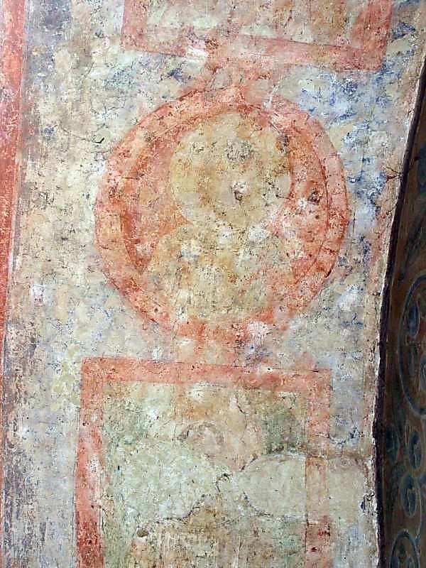 2006 р. Святі у медальйонах (2, 3). Західна підкупольна арка, південна щока