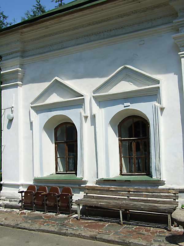 Західна частина південного фасаду. Вигляд з півдня