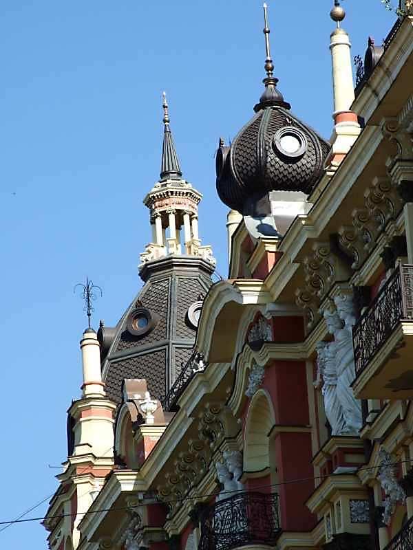 2007 р. Верхня частина фасаду по вул.Прорізної