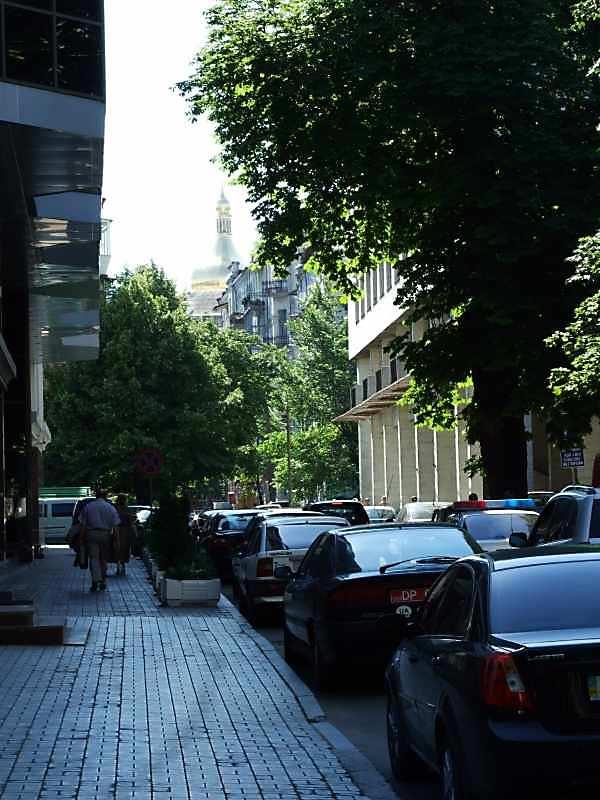 2007 р. Перспектива вулиці від Торговельної палати