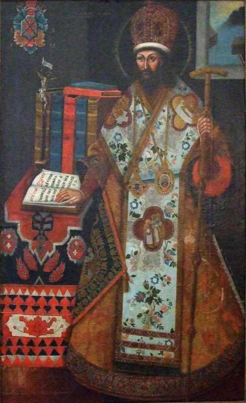 Невідомий художник. Портрет Д.С.Туптала