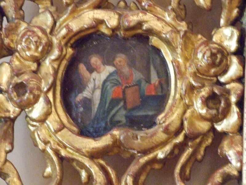 Картуш з євангелістом Матфієм