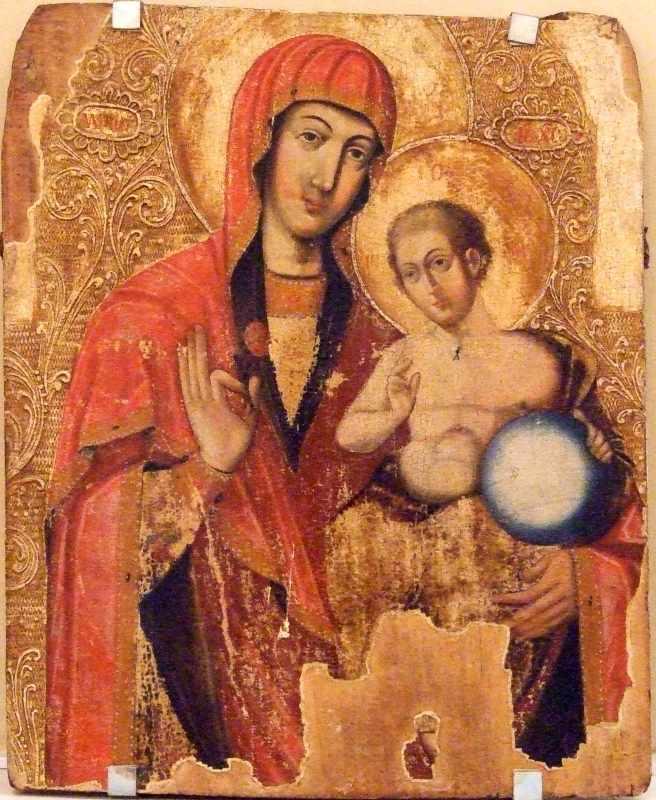 Богородиця Дороговказниця (ліворучиця)