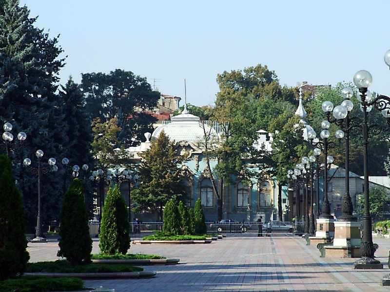 2007 р. Загальний вигляд в перспективі площі