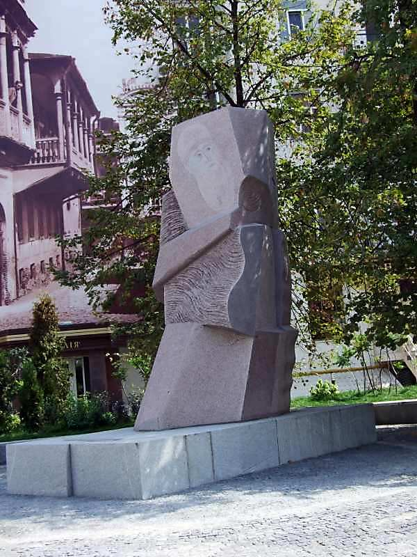 2007 р. Пам'ятник Шота Руставелі