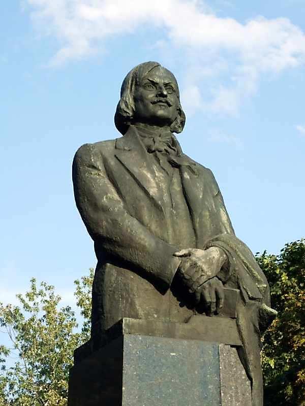 Пам'ятник М.Гоголю