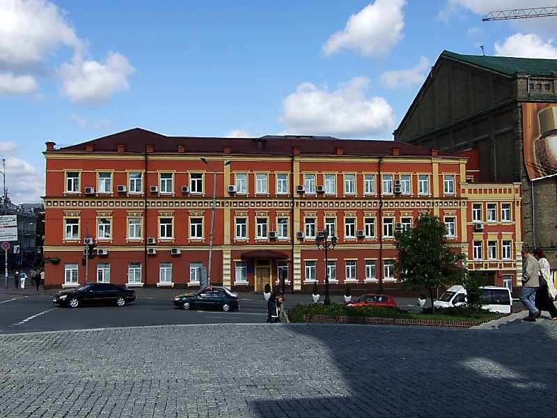 2007 р. Фасад по Боричевому узвозу