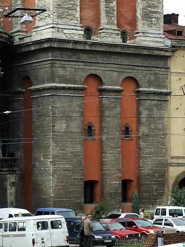 2007 р. 1-й ярус. Вигляд з південного сходу