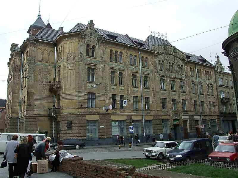 2007 р. Фасад по вул.Руській