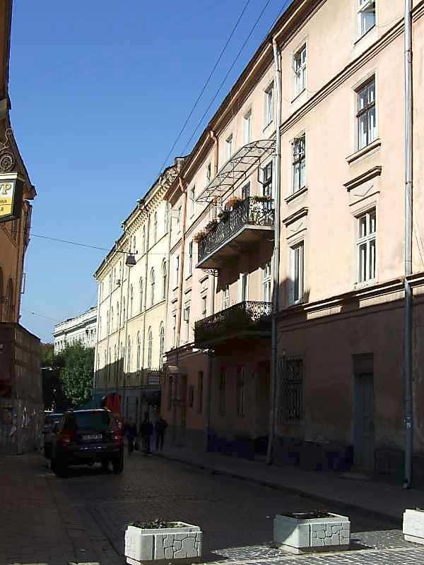2007 р. Перспектива від вул.Краківської в бік просп.Свободи