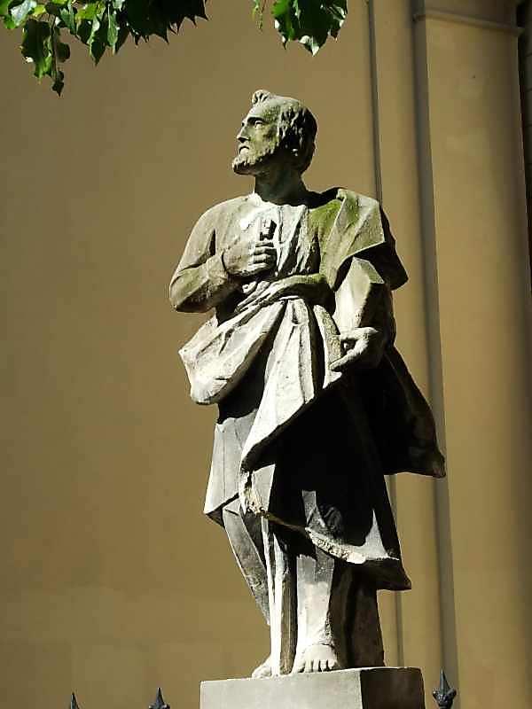 Скульптура апостола Петра (1)