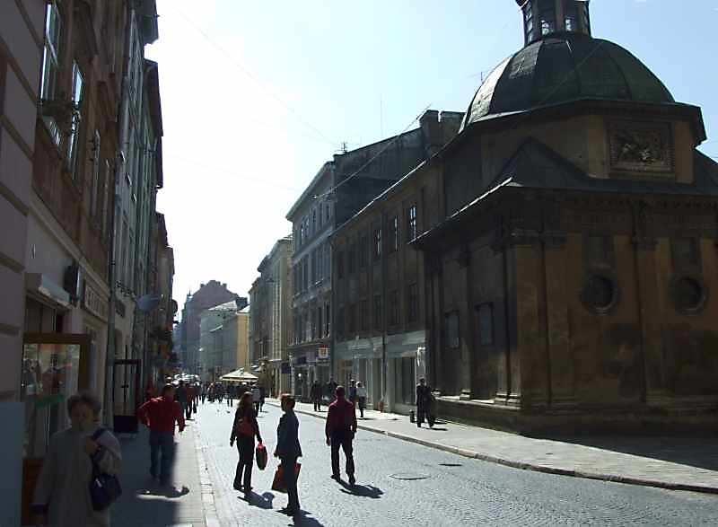 2007 р. Перспектива від катедрального костелу
