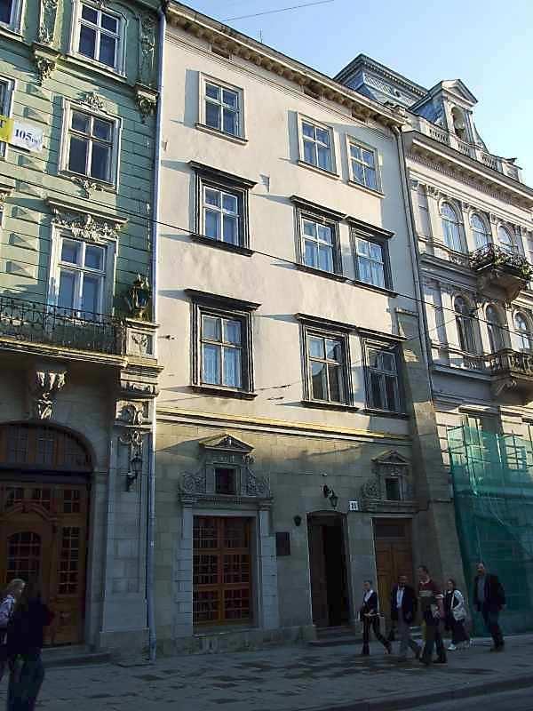Будинок Домбровських-Убальдіні (№ 21)