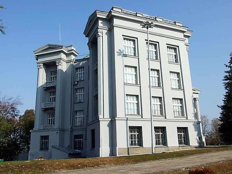 2007 р. Бічний фасад