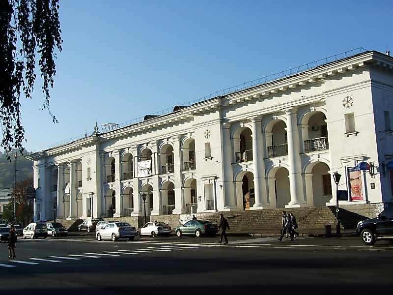 2007 р. Східний фасад. Вигляд з північного сходу