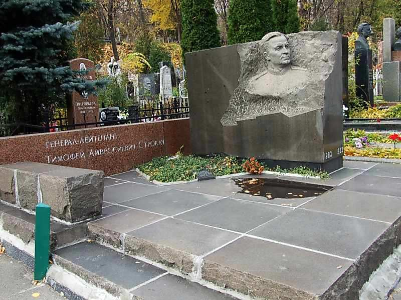 Могила Строкача Т.А. (1903 – 1963)