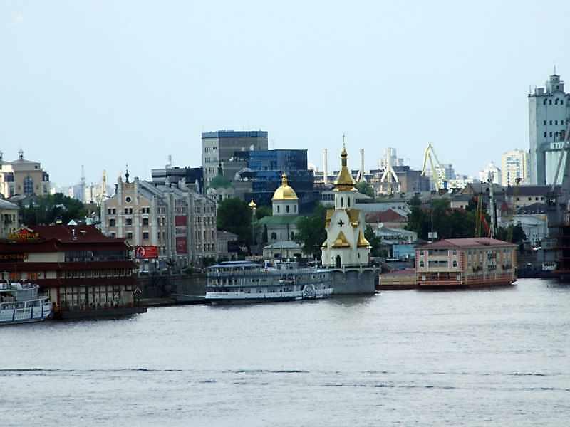 2008 р. Панорама з Пішохідного моста