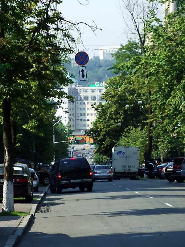 2008 р. Перспектива від будинку № 77 в бік вул.Жилянської