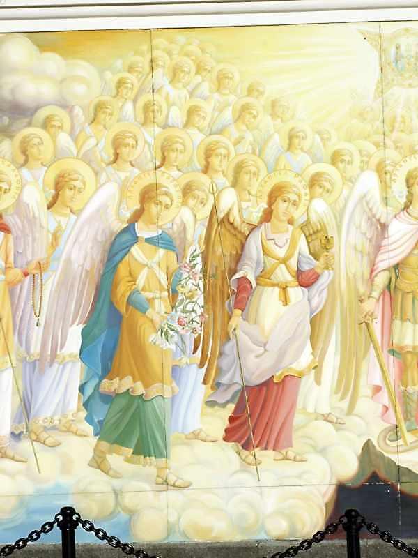 Архангели Варахиїл, Рафаїл і ангели