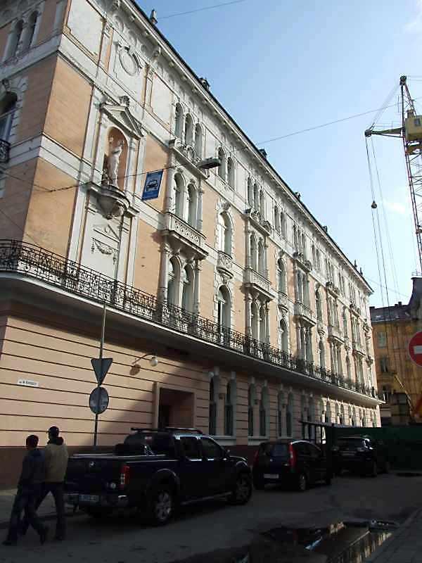 2008 р. Фасад по вул. М. Вороного