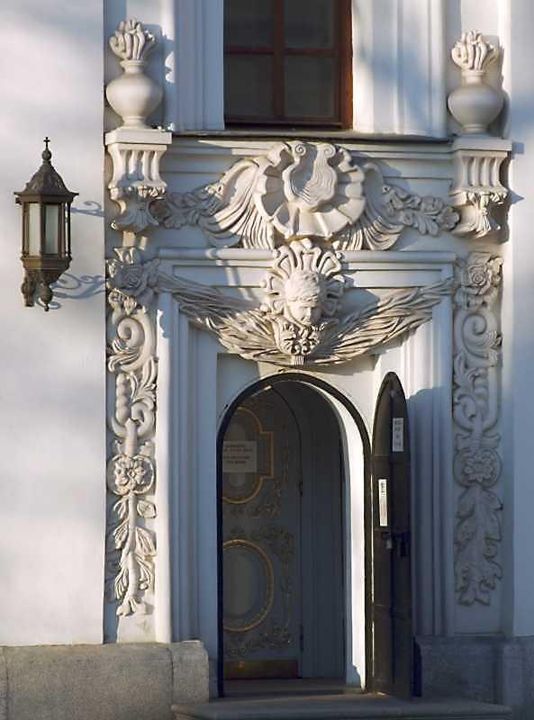 Західний портал південного фасаду