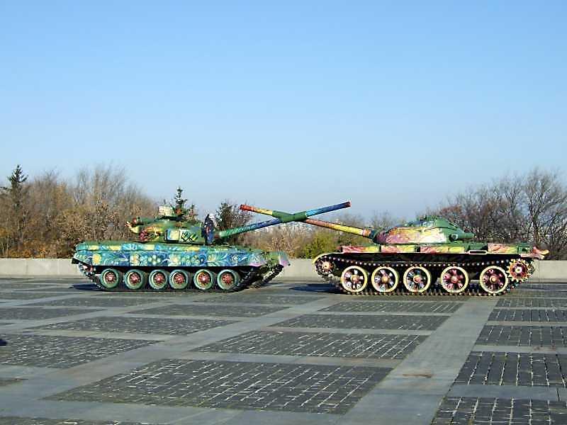 2008 р. Танки Т-64 і Т-62