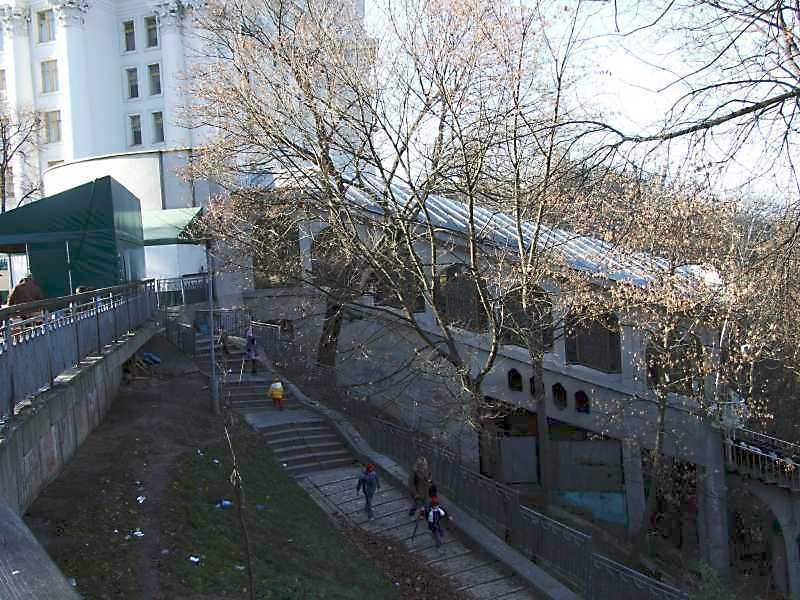 2008 р. Верхня станція фунікулеру