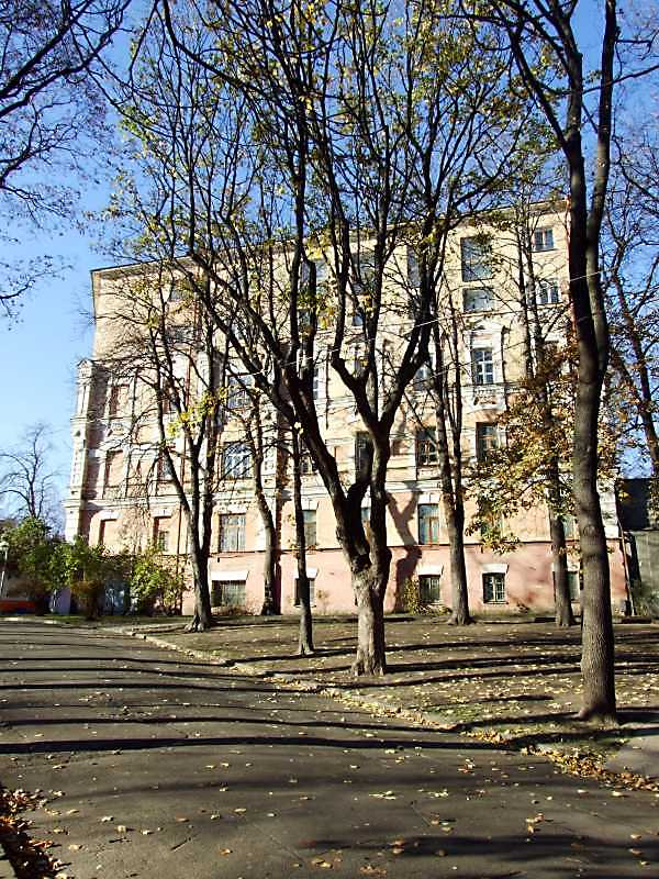 2008 р. Фасад, звернений до Володимирської гірки