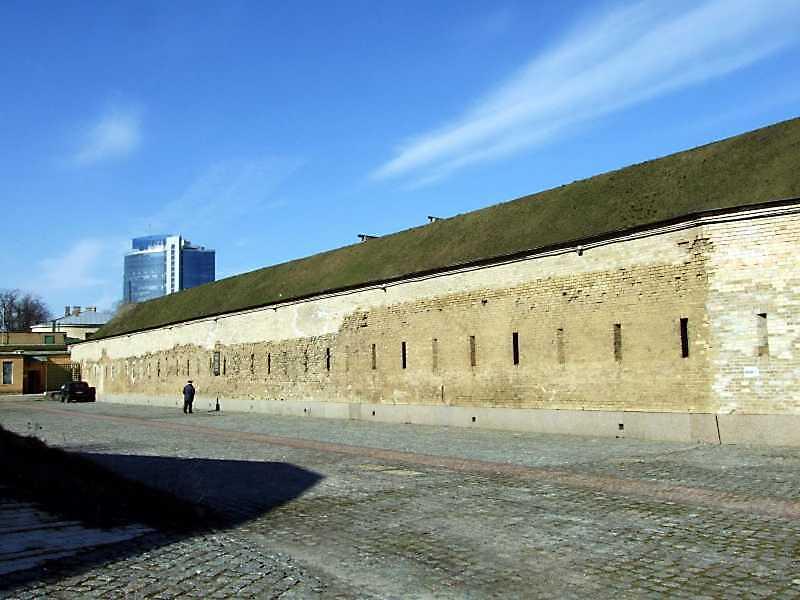 2009 р. Стіна західного фронту. Вигляд з південного заходу
